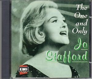 CD-Jo-Stafford-THE-ONE-AND-ONLY-20-original-Capitol-recordings