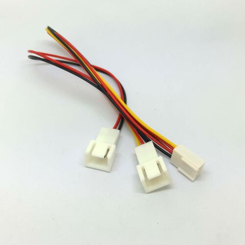 PC motherboard cpu Fan Splitter Cable Adapter 3pin female to 3pin 2pin male gm