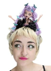 Zombie-Doll-Flower-Pastel-Crown-Headdress-Goth-Gothic-Witch-Halloween-Gobbolino