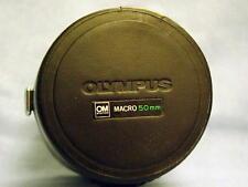 OLYMPUS OM ZUIKO 50mm F2 MACRO LENS CASE