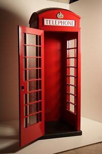 cabina telefonica inglese alluminio casa arredamento