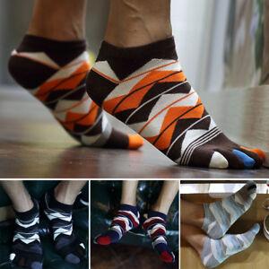 Hot-Sale-New-Men-039-s-Women-039-s-Socks-Cotton-Sports-Five-Finger-Socks-Toe-Socks