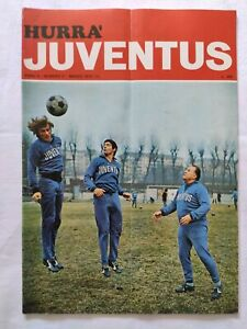 HURRA-039-JUVENTUS-N-3-MARZO-1972-POSTER-MASSIMO-PILONI-FURINO-CARLO-PAROLA