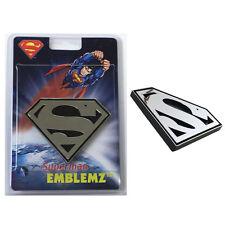 New DC Comics Superman 3-D Chrome Plastic Auto Car Truck Emblem Decal Sticker