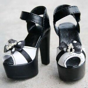 PF 52# Purple 1//3 SD DZ AOD BJD Dollfie High Heels Synthetic Leather Shoes