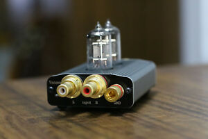 Details about Mini Class A 6J1 Vacuum Tube Phono Turntable Preamp MC RIAA  Hi-Fi preamp