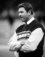 Chicago Bears Coach MIKE DITKA Glossy 8x10 Photo NFL Football Print Poster