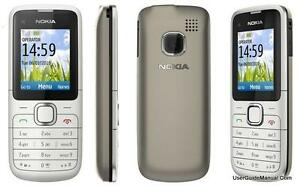 New-Condition-Nokia-C1-01-Grey-Unlocked-Camera-Bluetooth-Mobile-Phone-with-box