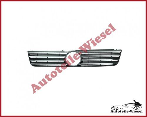 Kühlergitter Kühlergrill Schwarz mit Chromleisten für VW PASSAT B5 3B