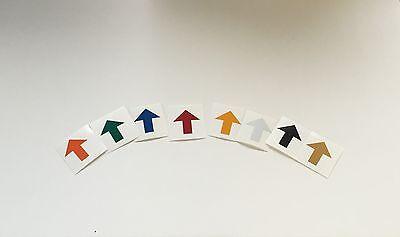 Reflective ELG Vinyl Arrows 20