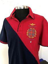Aeronautica Militare Herren Polo-Shirt Gr.XXL Kurzarm mod. 66p118 100% original