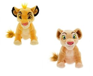 Disney-The-Lion-King-Nala-amp-Simba-Mini-Bean-Bolsa-Peluche-Lote-Set-De-2-Munecas