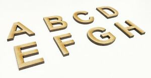 Details about LARGE Wooden Letters Arial Font 20cm-40cm 4mm Thick MDF Toy  Box Wooden Name