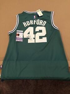 best authentic a059c 1dad6 Details about Al Horford Signed Custom Boston Celtics Jersey w/ JSA COA NBA  STAR