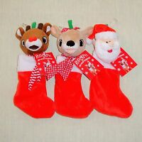 Rudolph The Red Nosed Reindeer - Mini Christmas Stocking -