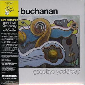 KERE-BUCHANAN-GOODBYE-YESTERDAY-JAPAN-MINI-LP-CD-BONUS-TRACK-F56
