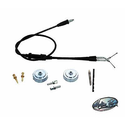 TORS Eliminator Throttle Cable & Idle Kit Fits Yamaha YFZ350 Banshee 2001 2002