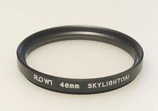 (PRL) FILTRO ROWI 46 mm SKYLIGHT 1A FILTER FILTRE FILTRU FILTAR FOTO PHOTO SKY