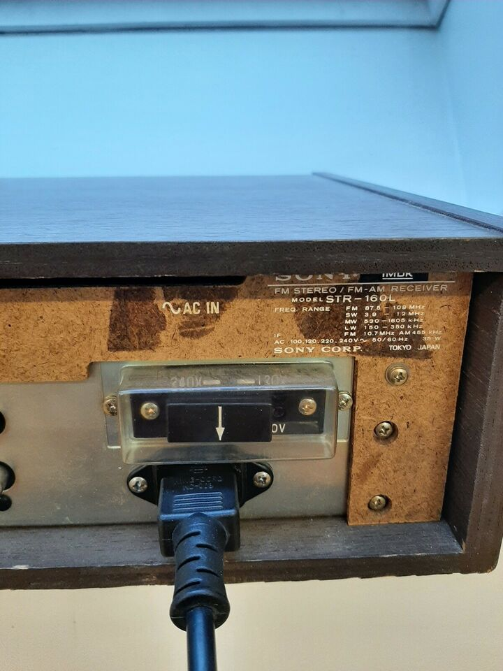 Receiver, Sony, STR-L160L Solid State