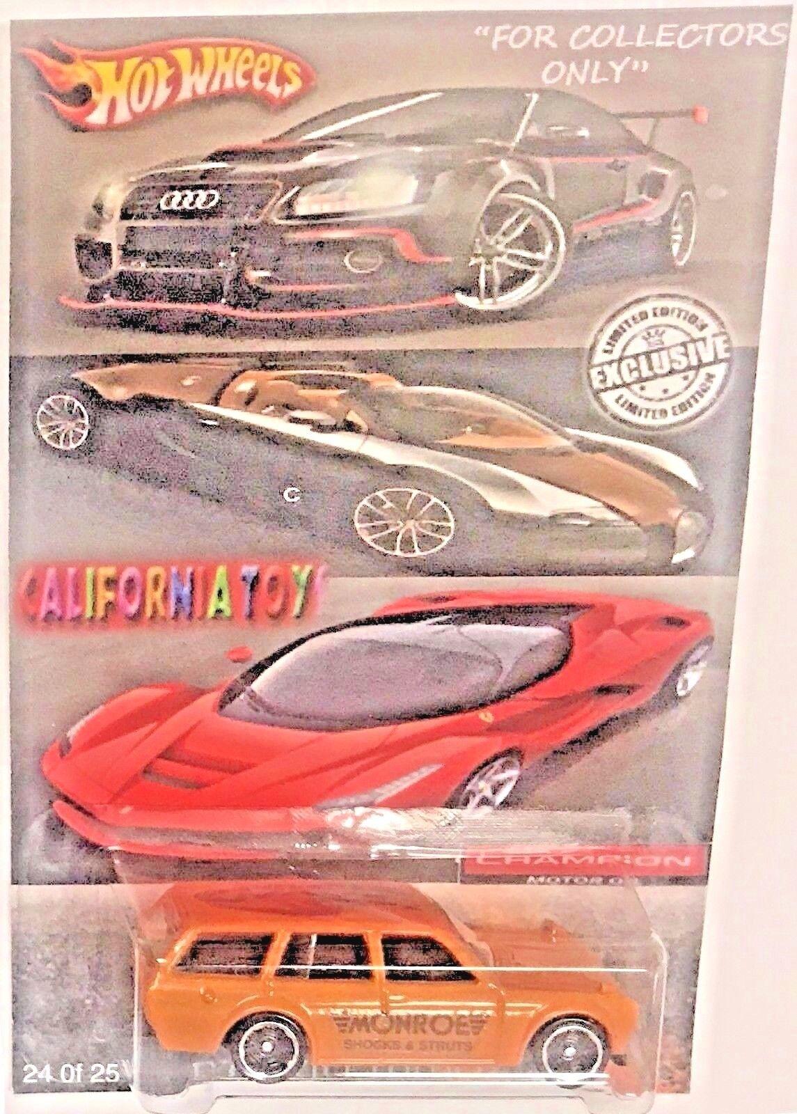 Hot Wheels 510 Datsun Wagon California Toys Limited Edition Die cast Custom