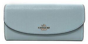 Coach-Crossgrain-Leather-Slim-Envelope-Wallet-in-Aqua-Blue-250-00-MSRP