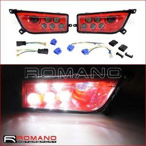 10-32V-LED-Conversion-Headlight-1-Pair-For-Polaris-RZR-900-RZR-1000-S-2016-2017