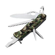 NEW VICTORINOX SWISS ARMY ONE HAND TREKKER CAMO 54877