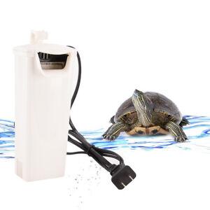 Low-Level-Aquarium-Filter-Magnetism-Turtle-Amphibian-Fish-Tank-Reptile-Media-New