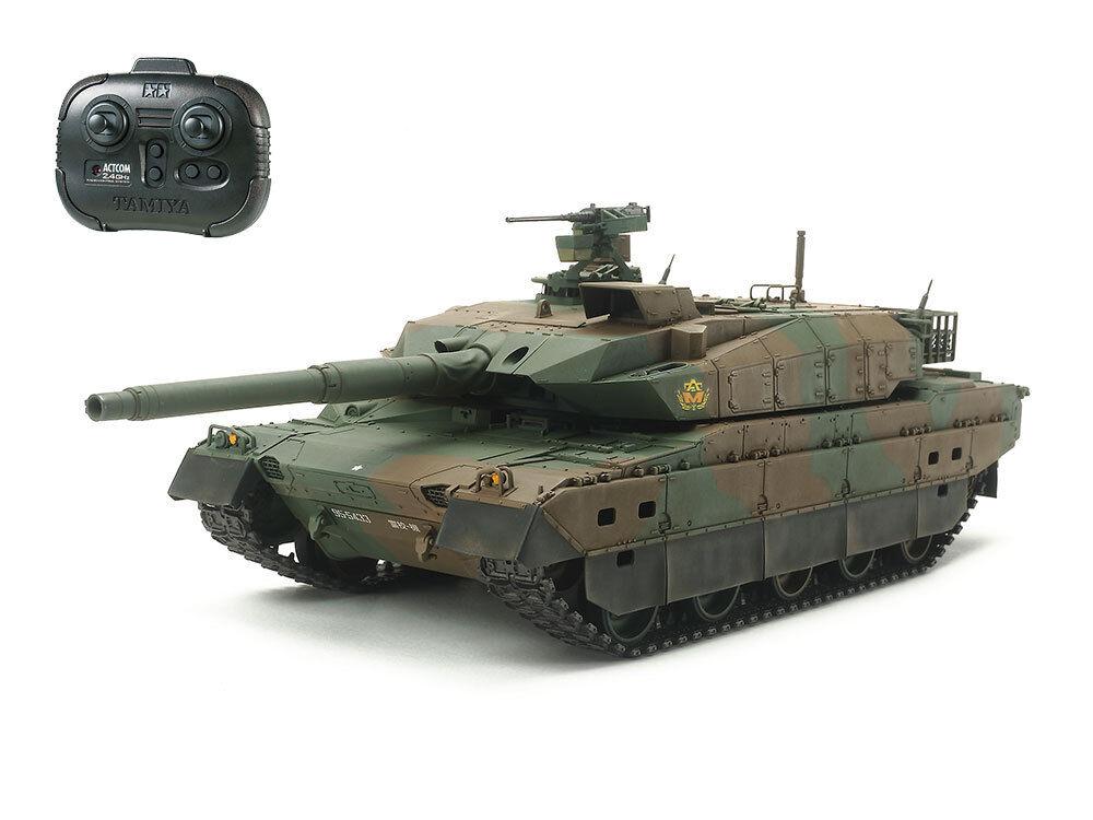 Tamiya 1 35 R C Japanese TYPE 10 JGSDF Main Battle Tank  Full Set  2.4GHz  48215
