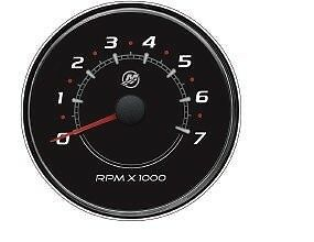 New Mercury Mercruiser Quicksilver Oem Part # 79-8M0052854 Tach-7K Rpm-Blk
