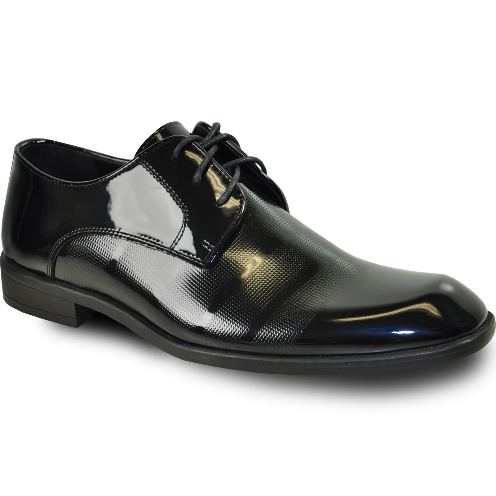 alta qualità generale VANGELO    ROCKEFELLER Uomo Tuxedo scarpe For Formal Wedding nero  consegna rapida