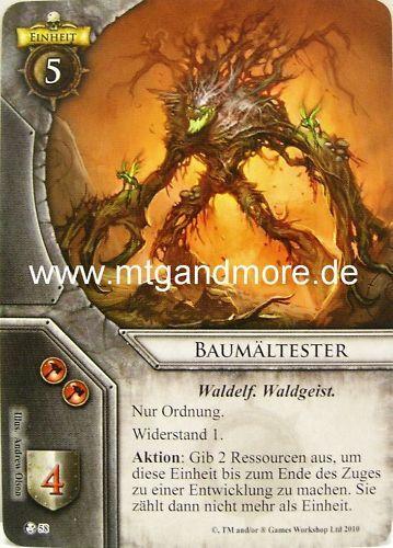 Warhammer Invasion 2x Baumältester  #058