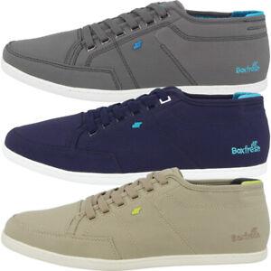 Boxfresh Sparko Matt Nylon Schuhe Herren Low Cut Freizeit Sneaker grey E15502