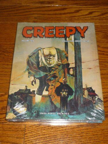 Richard Corben Creepy Archives Volume 10 Warren SEALED Dark Horse hardcover
