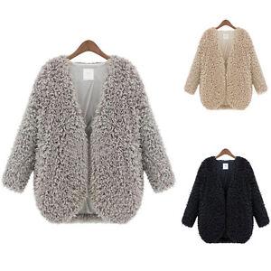 Women-Fluffy-Shaggy-Faux-Fur-Cape-Coat-Lady-Winter-Jacket-Outwear-Cardigan-Tops
