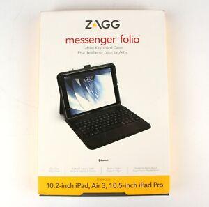 Zagg Ultra Slim Keyboard Messenger Folio Case For Apple