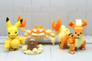 Mega-Construx-Bloks-Pokemon-Pikachu-Diglett-Growlithe-and-Krabby