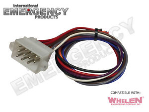 Details about 12 Pin Plug Harness Cable for Whelen Siren 295SL 295SL100 on