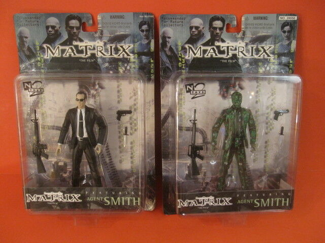 N2 TOYS Agent Smith The Matrix Action Figure NIP NIP NIP 1999 eaa694