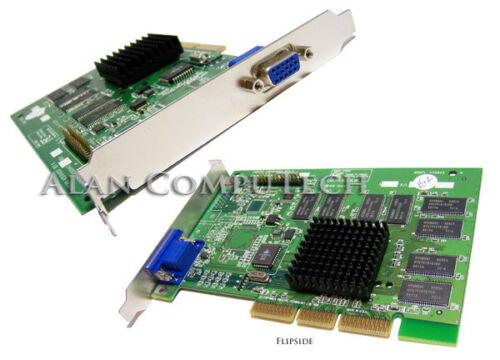 Creative 32MB AGP Riva TNT2 VGA Video Card 4001049301 TNT2-32MB-R3