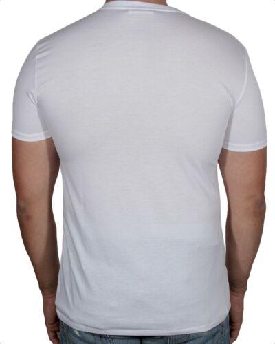 Lacoste Men/'s Premium Pima Cotton T Shirt V-Neck Short Sleeve Sz S 4XL NWT