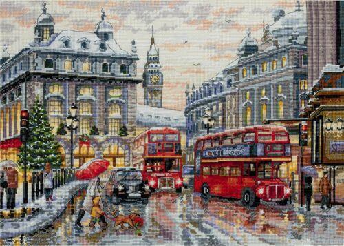 London Merejka Cross Stitch Kit
