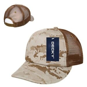 Image is loading Desert-Camo-Camouflage-Mesh-5-Panel-Military-Marines- 296c4527ef3d