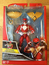 Power Rangers Super Megaforce blindado Red Ranger con Dragonzord Daga-Nuevo