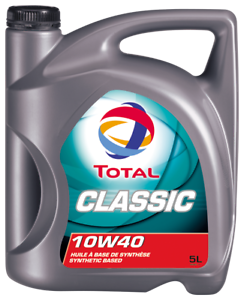 Details about Total CLASSIC 10W40 SEMI Motor Engine Oil 5 Litre TOT156357
