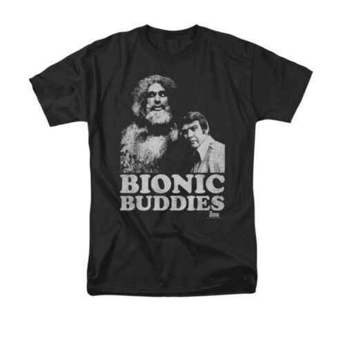 Six Million Dollar Man BIONIC BUDDIES Licensed Men/'s Graphic Tee Shirt SM-6XL