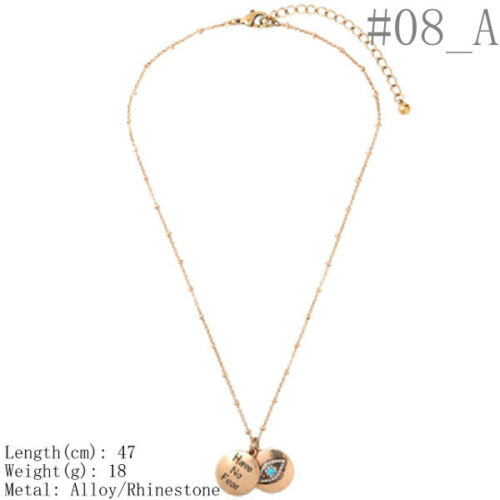 Women/'s Vintage Moon Eye Stars Spider Hand Sun Heart Pendant Necklace