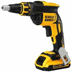 Dewalt-DCF620D2-20V-MAX-XR-Li-Ion-Brushless-Drywall-Screwgun-Kit-2-0Ah
