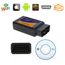 ✔WIFI ODB-II ELM327 AUTO MOTO DIAGNOSTICA RESET OBD2 AUDI ANDROID IOS IPHONE PC