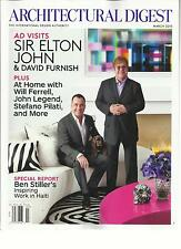 ARCHITECTURAL DIGEST, MARCH, 2013 ( THE INTERNATIONAL DESIGN AUTHORITY  )
